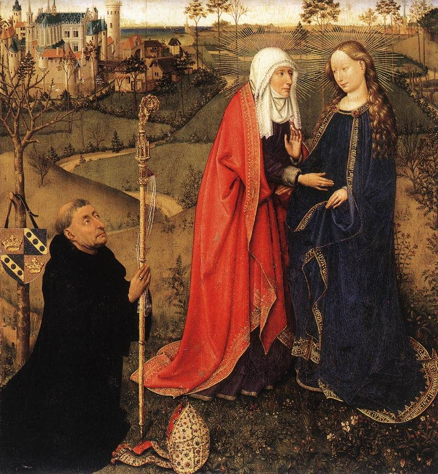 Image result for mary and elizabeth meet