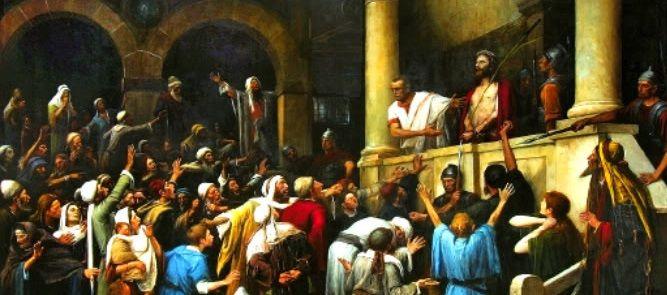Jesús, la Turba, la Rendición y la Cobardía
