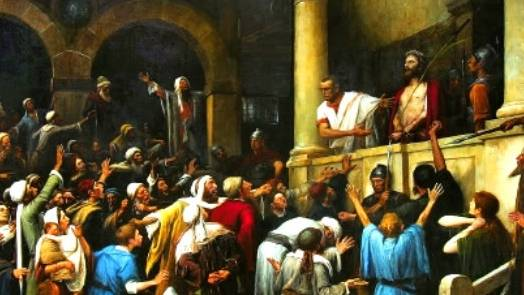 Jesus, the Mob, Surrender, and Cowardice