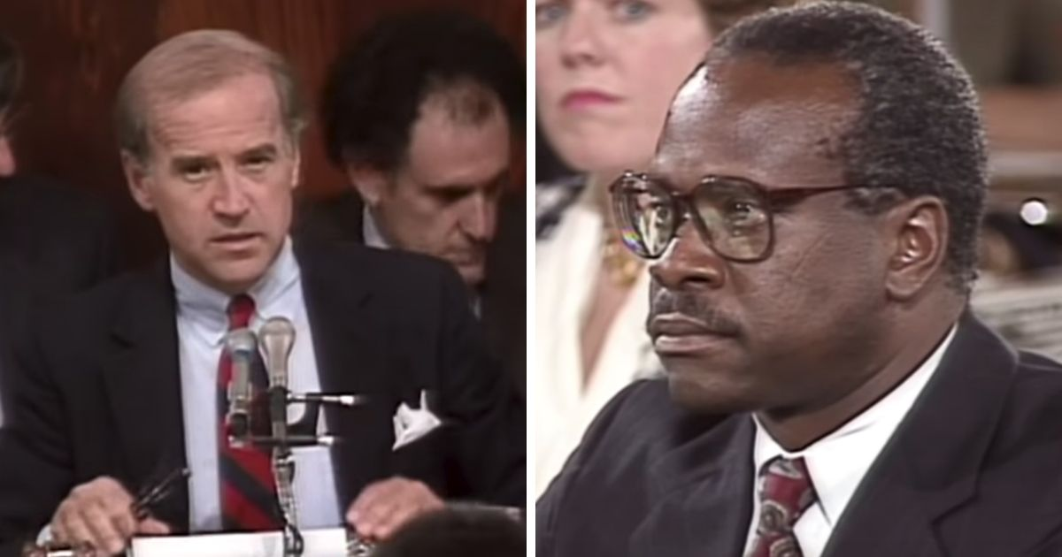 How Joe Biden Attacked Clarence Thomas and Revealed His Distaste for Moral Absolutes