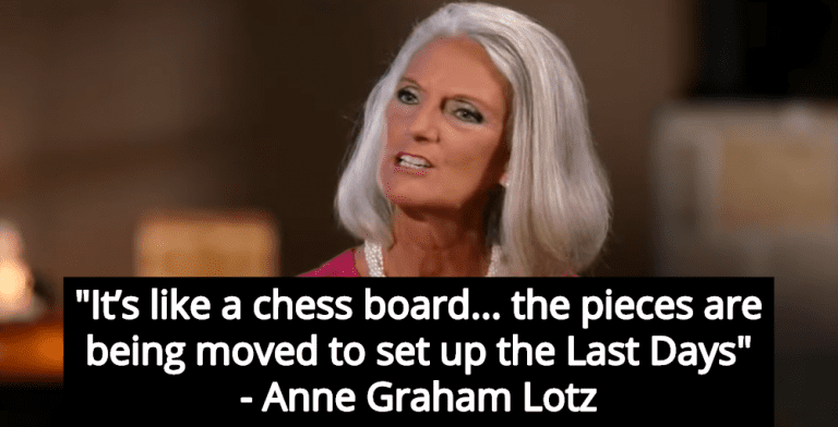 Anne Graham Lotz: Trump Moved Troops Out Of Syria To Set Up 'Last Days' (Image via YouTube)