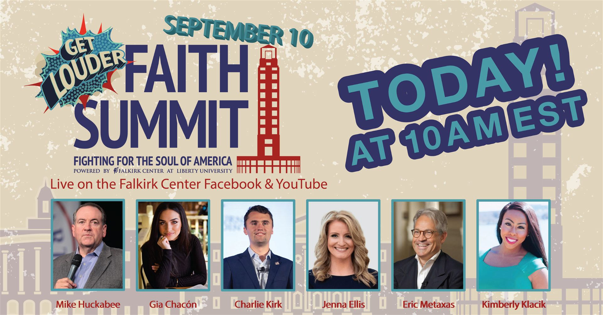 Get Louder: Faith Summit 2020