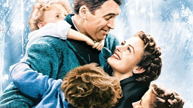 The film poster for It's A Wonderful Life