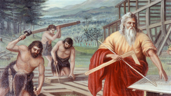 The Days of Noah and Postmillennialism