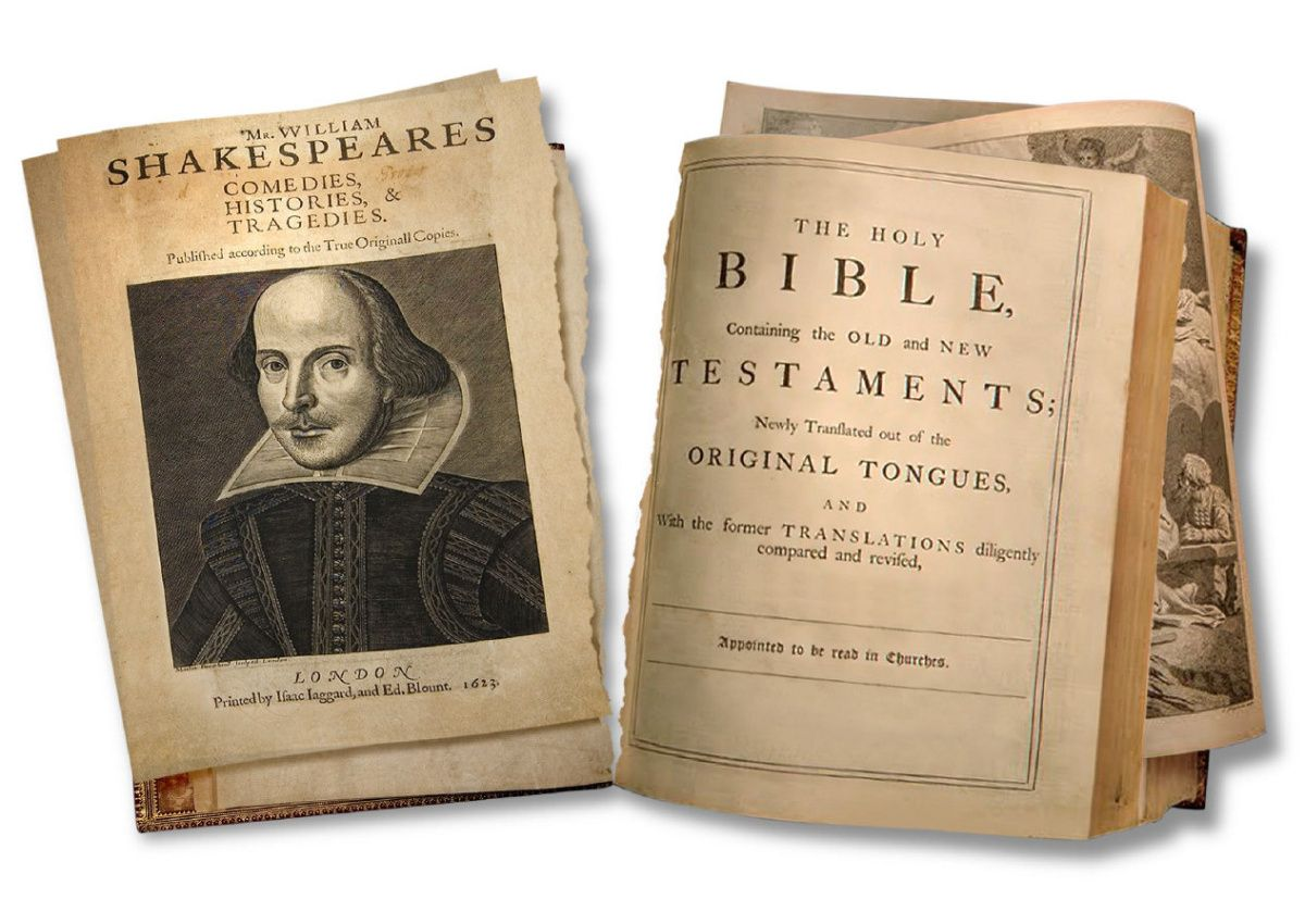 Image result for shakespeare bible