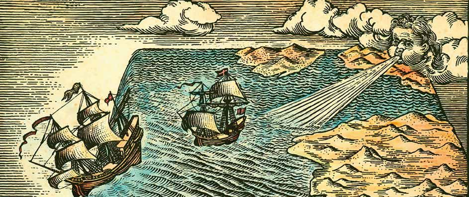 Image result for columbus flat earth myth